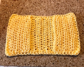 Crochet Sweeper Cover, Can Be Used on a Swiffer Sweeper