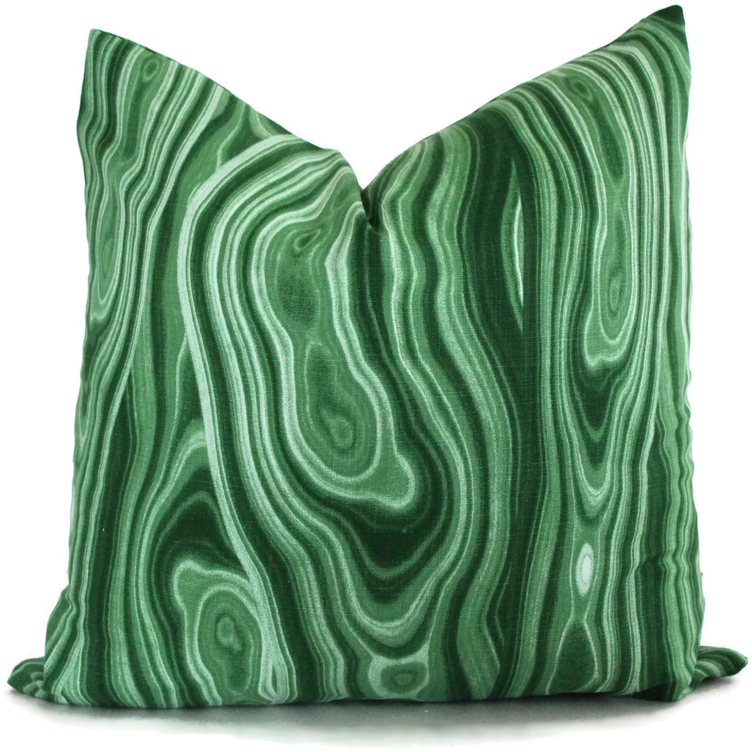 Green Malachite Pillow Cover Robert Allen 15x15 15x15 15x15