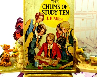 The Chums of Study Ten First Edition 1920s Vintage Hardback Girls Book Fun Old Schoolgirl Stories