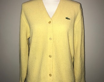 Vintage 1980's Yellow Pullover / size 38 / Brooks Brothers z4f0yv5