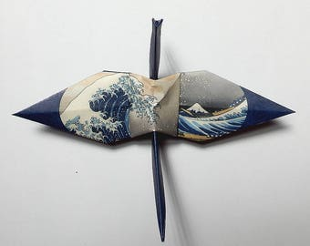 36 Views Mount Fuji - 46 Large Origami Cranes Origami Paper Cranes - Made of 15cm 6 inches Japanese Paper