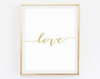 Love Printable, Nursery Wall Decor,  Love sign, Love Print, Love quote signs, Love Typography, Love Poster, Love wall art