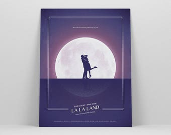 La La Land Poster ~ Movie Poster, Art Print, Wall Art, Wall Decor, Gift for Her