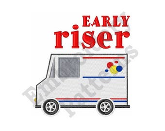Early Riser - Machine Embroidery Design