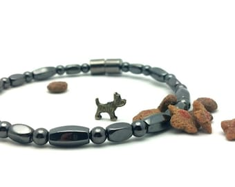 Magnetic Pet Collar || Holistic Pet Therapy || Pain Relief || Custom Sized || Wellness Health || EXTRA STRONG Clasp