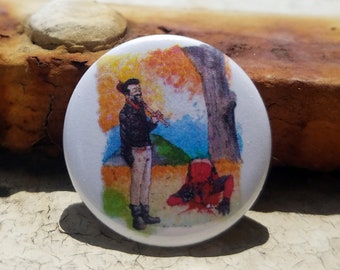 CWA Negan / Deadpool Hit Me Baby One More Time 1 inch Button