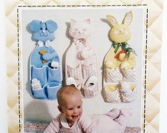 Nursery Organizer Sewing Pattern  - Nursery Holder Sewing Pattern - Patch Press 340B - Dog, Cat or Rabbit Nursery Organizer - Nursery Decor