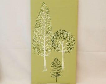 Tree canvas