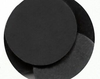 Black 16 oz Clasen Confectionery Coating - Chocolate Melts 1 pound lb bag Like Merckens Disks