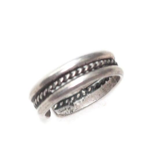 Sterling Silver Toe Ring Boho Southwestern Adjustable Vintage Body Jewelry