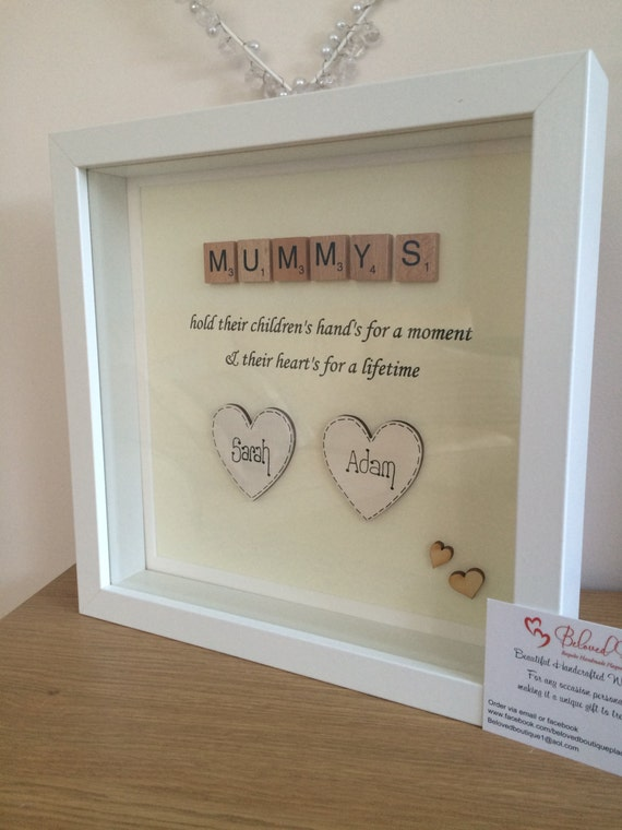 Best Mum Mothers Day Glass Frame