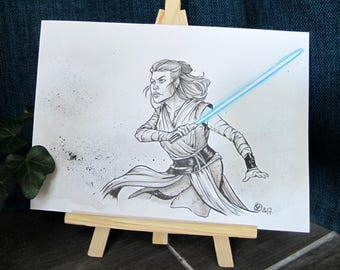 Original - Star Wars. Rey - Inktober 2017