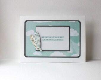 Encouragement Handmade Card