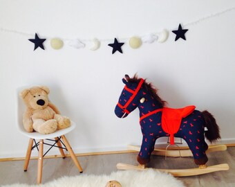 Sun, Moon and Stars Nursery Bunting or photography shoot banner
