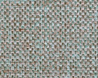 Wonderful Aqua Blue Woven Upholstery Fabric By The Yard   Blue Taupe Modern Tweed Fabric  For Furniture
