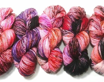 Rust & Blooms: Dyed to Order Hand Dyed Yarn - Suitable for knitting and crochet