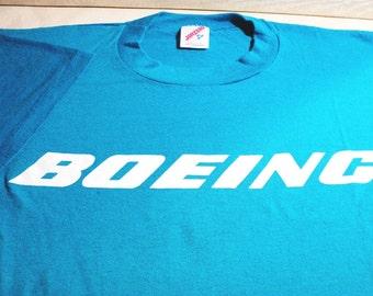 T-Shirt, Boeing Logo, Airplane T-Shirt, Men's T-Shirt, Woman's T-Shirt