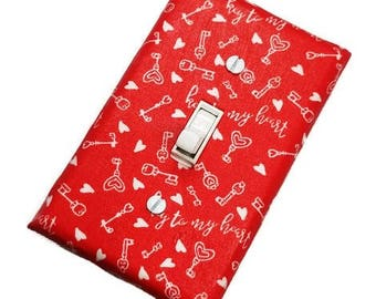 Valentine's Day Decor | Suiteplat | Decorative light switch cover