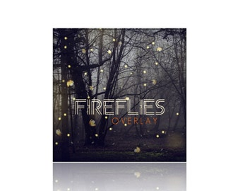 Fireflies Photography Overlay - png File Digital Download