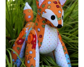Feather Fox Sewing Pattern
