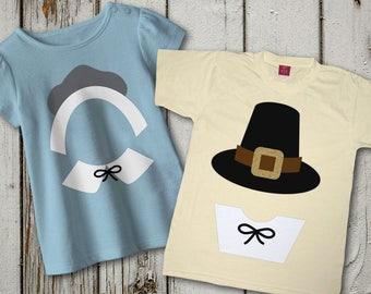 Pilgrim Hats SVG File Template Set