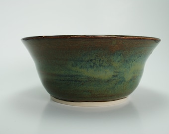 Handmade Pottery Bowl | Wheel Thrown Ceramic Bowl in Light Marco | 2 Matching Available | Ready to Ship