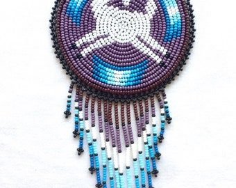 Kauyumari Deer Medicine Pouch Necklace