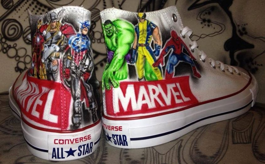 fetching how to design converse shoes at home.  zoom Hand Painted airbrush Converse Chucks Allstars custom Graffiti