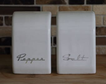 Retro Ceramic Salt & Pepper Shaker Set