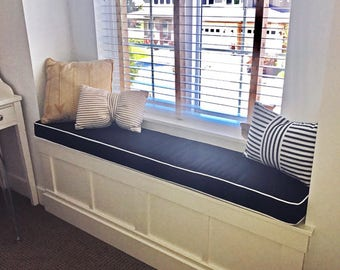 Bench Cushion Kitchen Nook Seating Dining Cushions Banquette Window Seat Cushions-Custom Made to any size