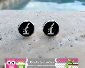 Microscope Earrings, Microscope Jewelry, Microscope Accessories, Microscope,Gifts for Her, Gifts under 10