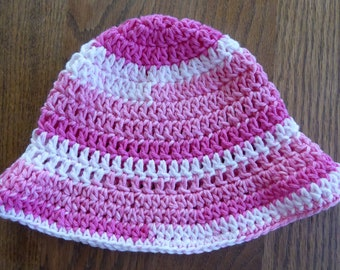 Child's Pink Sunhat