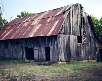 Old Barn Wooden Print Wrap