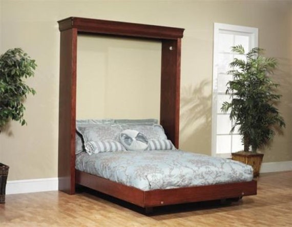 Build your own Queen Sized Murphy Bed DIY Plan Fun to build