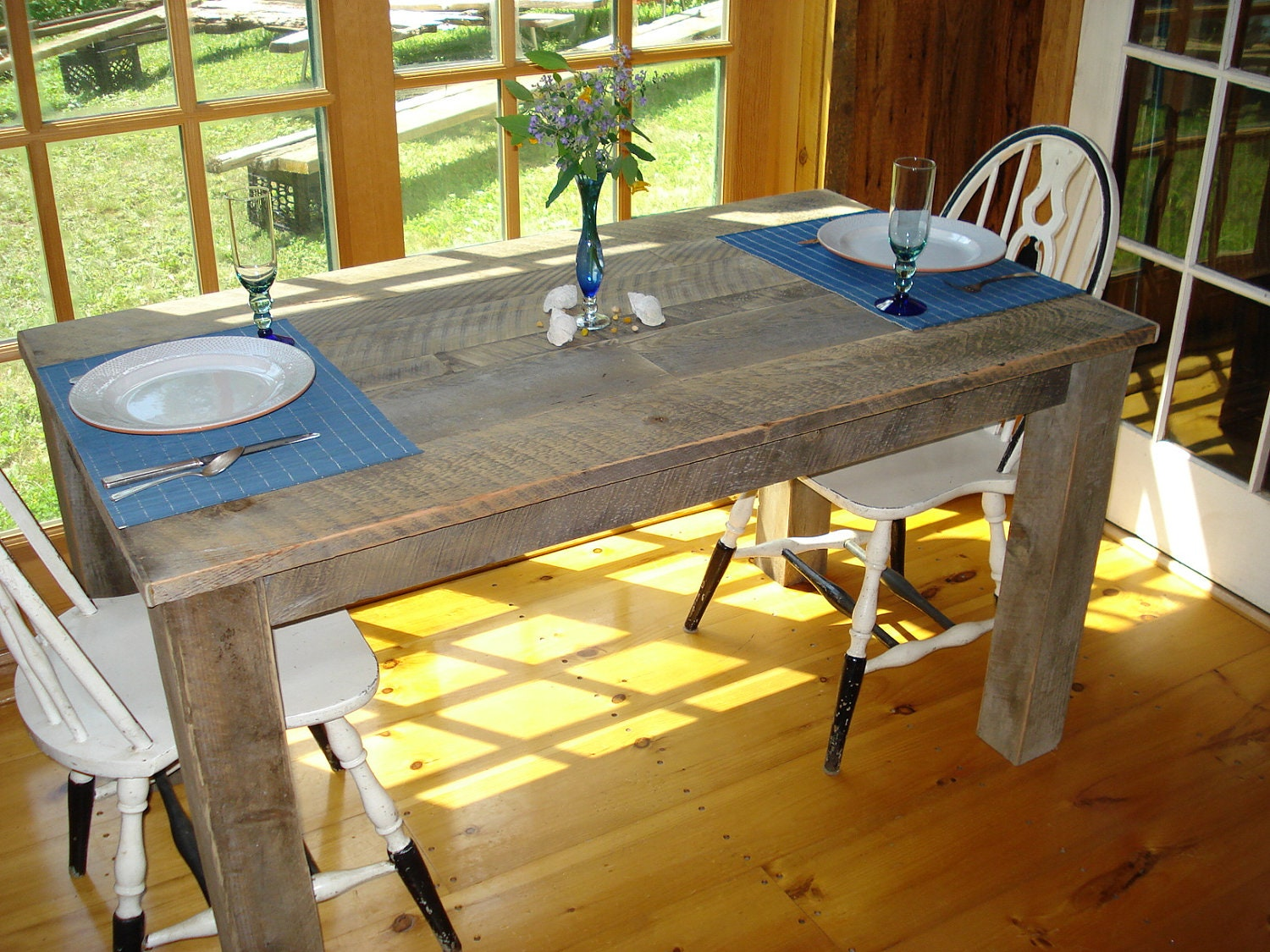 zoom rustic dining room table 48 x 36 x 30or  rh   etsy com