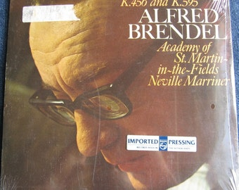 SEALED MOZART Piano Concertos K.456 and K.595 Alfred Brendel Academy of St. Martin-In-The-Fields  Vinyl Record Album MINT