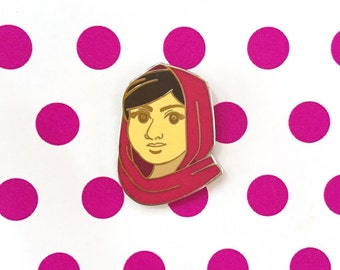 Enamel Pin - Malala - Boss Babes Collection