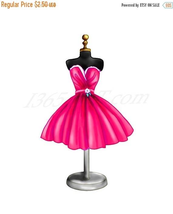50 off magenta dress clipart magenta dress clip art dress rh etsy com clip art dressage images clipart dresses