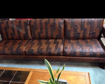 Vintage Patchwork Couch REDUCED!!! WAS 1,800.00 then 1,400.00!!! REDUCED 1,250.00!