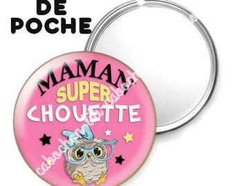 Mirror - badge - 56mm - super cool MOM 3