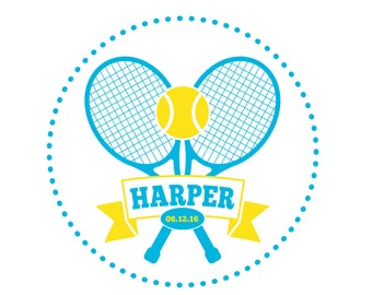 Tennis Bat Mitzvah Logo