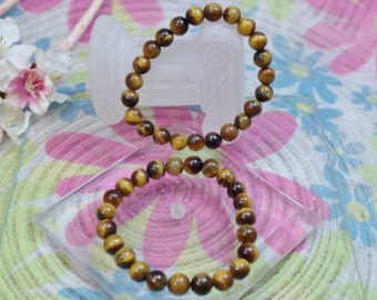 Natural gemstone Tiger eye bracelet