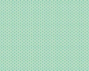 Bee Basics By Lori Holt Tiny Daisy Teal (C6403-Teal)
