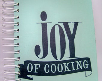 Joy of Cooking recipe keeper cookbook blank journal planner altered book