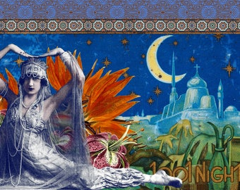 Limited edition digital print - *Arabian Nights*
