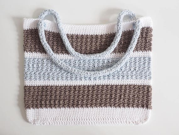 Everday Crochet Bag Pattern Crochet Tote Pattern Easy Bag