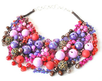 kama4you 3384 necklace crocheted boho