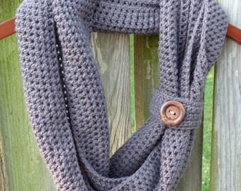 Cliffside Infinity Scarf - PDF Crochet Pattern - Instant Download