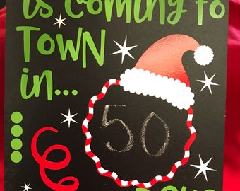 Santa Claus is coming to town countdown