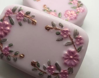 Floral Mix Homemade Soap Victoria